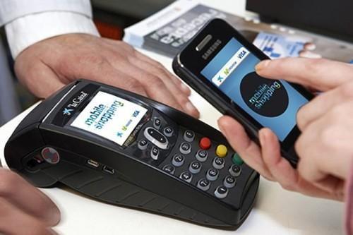 图:手机移动支付