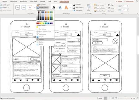 图:桌面端的好应用!Sketchy Shapes