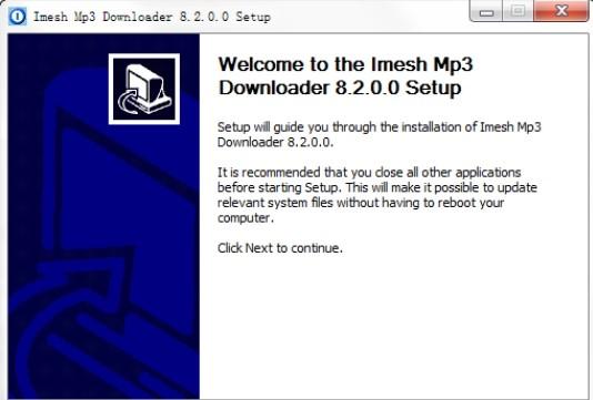 音乐搜索下载器Imesh MP3 Downloader下载安装