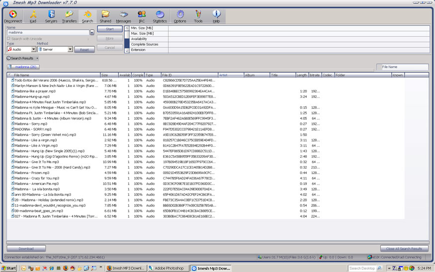 音乐下载器Imesh MP3 Downloader下载